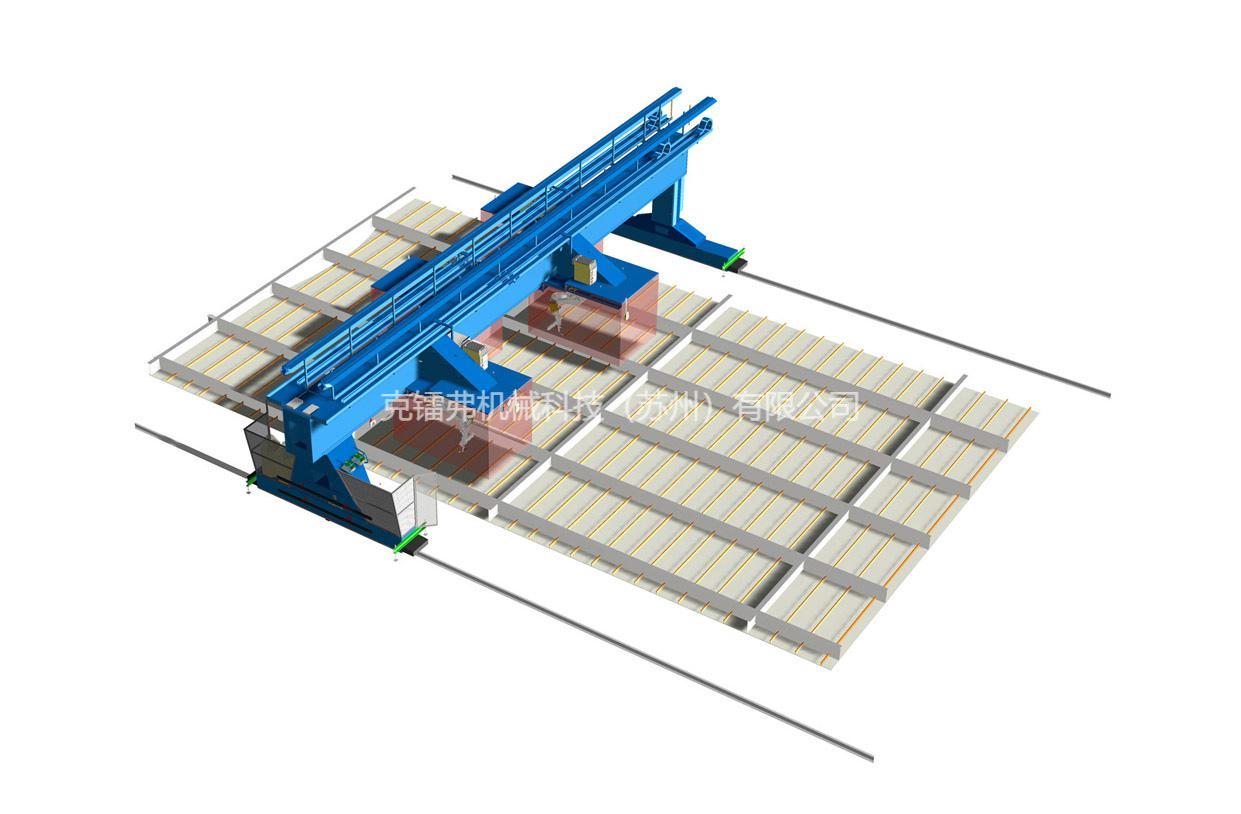 船舶海工智能门架焊接系统